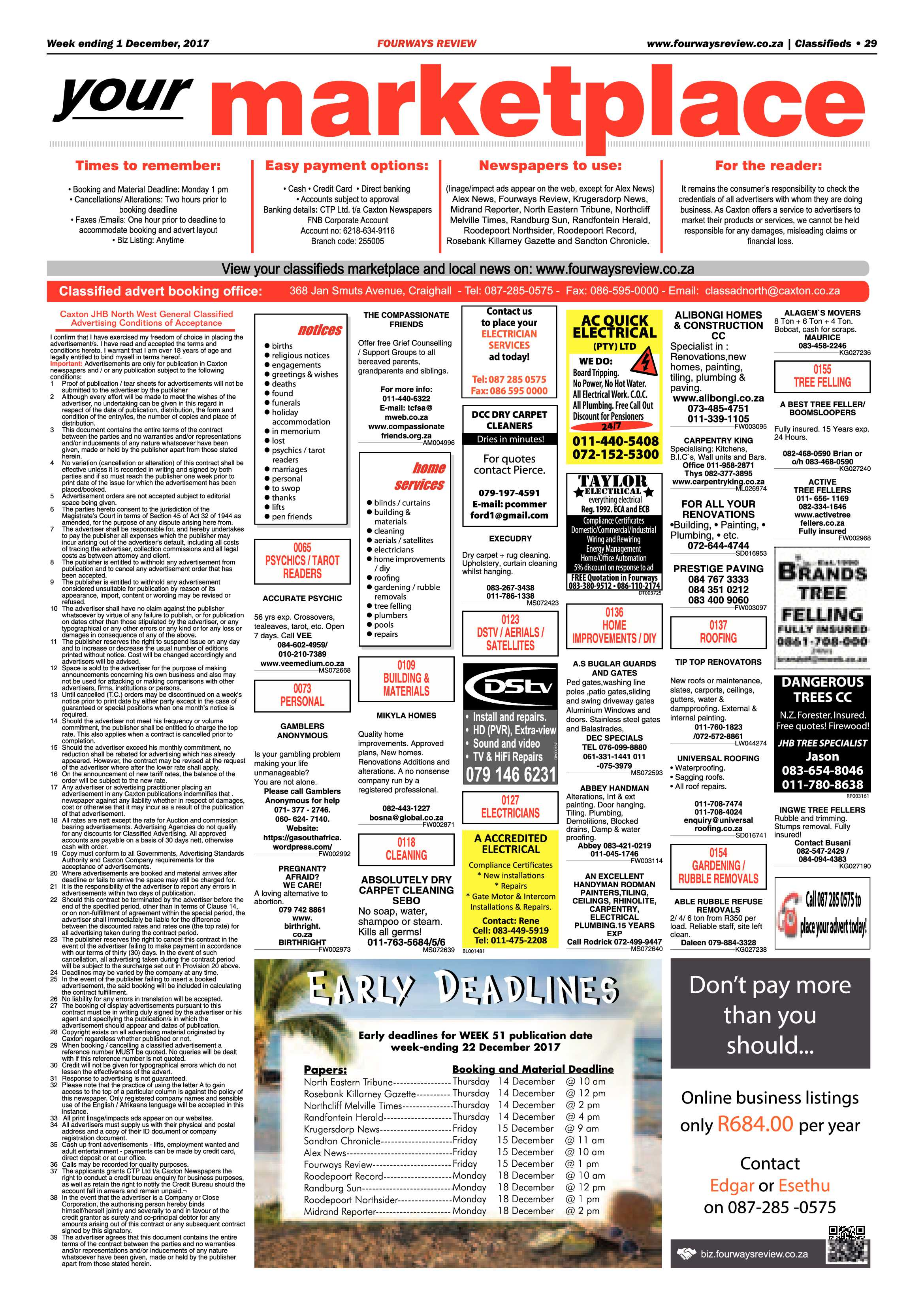 Fourways review 1 december fourways review fourways review 1 december epapers page 29 reheart Images